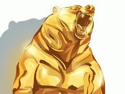 gold bear
